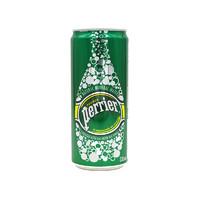 Perrier 巴黎水 含气天然矿泉水 330ml*24罐