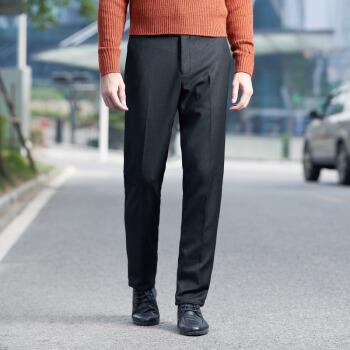 SEVEN 柒牌 男士上班裤子正装裤修身青年季新品 115B70010