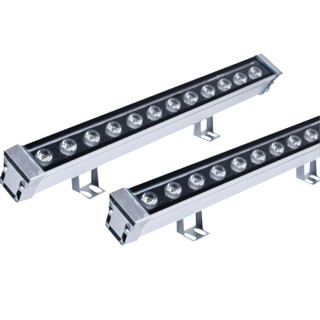 菲尼泰科 led洗墙灯 条形灯外墙广告灯 桥梁景观照明 220V-1米-36W RGB七彩可定制