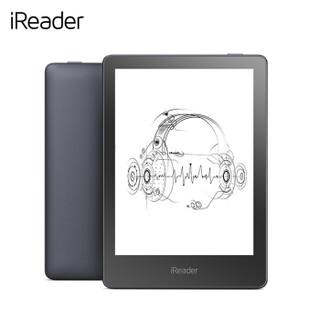 全新掌阅 iReader A6 电子书阅读器 听读一体 6英寸电纸书 8GB太空灰+原装侧翻保护套 深邃蓝