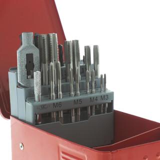 RS Pro欧时 T9222 22件 高速钢 丝锥和钻头套件, M3 → M12丝锥