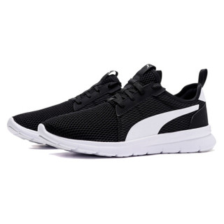 PUMA 彪马 男女同款 休闲鞋 FLEX FRESH 运动鞋  369120 01 黑色 38.5码