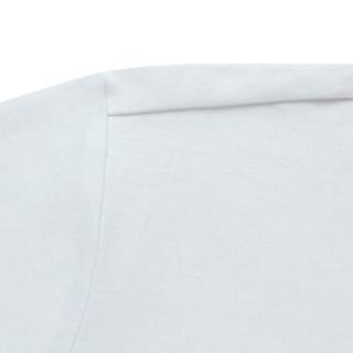 吉普(JEEP)短袖T恤男舒适休闲青年男士纯棉印花圆领半袖2019夏季新品 1938 粉色 XL