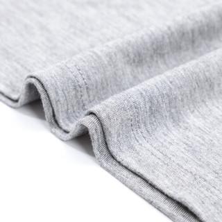 Langsha 浪莎 男士背心2件纯棉青年夏季潮修身型运动打底汗衫男 黑色+白色 170/L (黑色、L)