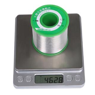 大焊无铅有铅松香芯焊锡丝0.8 1.0mm环保免洗焊丝0.5电烙铁焊锡线99.3%无铅1mm(净重75克)