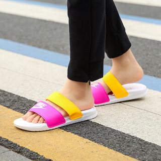 NIKE 耐克  女子 两道杠 拖鞋 BENASSI DUO ULTRA SLIDE 沙滩鞋 休闲鞋 819717-102 白色 36.5码
