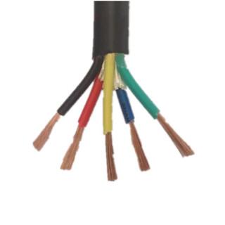 河京(HEJING) 电线电缆 国标橡套软电缆  软芯铜线 4*50mm +1 每米价格 100M起售 [定制款不退换]