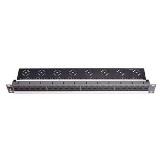 莫仕Molex 24口六类模块式配线架(带背面理线盘) PID-00141