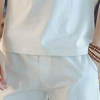 金盾(KIN DON)短袖T恤 2019夏季新款男士时尚百搭V领短袖T恤A082-T187白色L