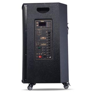科达(KODA)KD-15A大功率重低音广场舞音响移动户外蓝牙木质音箱便携式扩音器