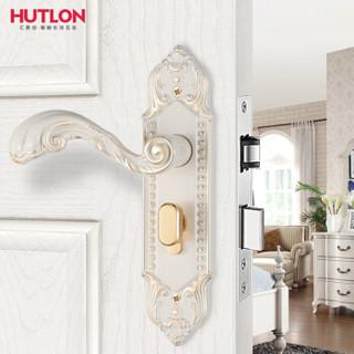 汇泰龙(HUTLON) 欧式房门锁木门把手锁 DS-732011 象牙白