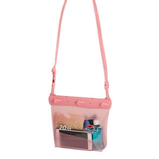 NH挪客 手机防水袋潜水包密封相机防水包潜水套海边游泳漂流装备 中号-粉色