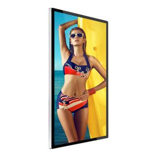 美芙 55英寸壁挂安卓广告机楼宇电梯高清液晶分屏 单机版