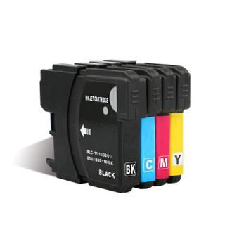 彩格LC990墨盒4色套装(适用兄弟MFC-250C 290C 490CW 790CW 795CW 5490 5890CN DCP-145C 165C 185C 385C)