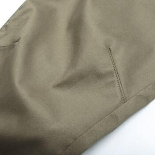 AK男装 (AKSERIES)休闲特工款收口长裤 军灰色 33