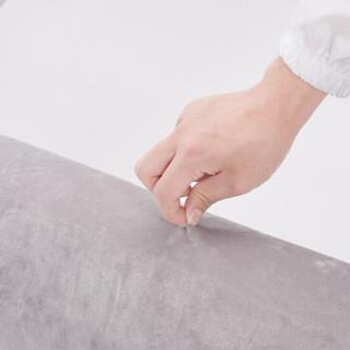雅自然 乳胶抱枕颈椎枕圆形圆柱枕芯糖果枕(含内外套) 100*20cm