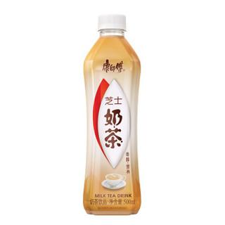 康师傅 奶茶饮料 芝士味500ml*15瓶 整箱装()