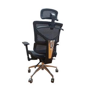 理邦办公椅电脑椅职员椅转椅A733-2黑色