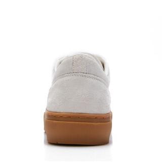 CAMEL 骆驼 小白鞋男韩版潮流休闲时尚运动系带 W912659010 白色 39/245码