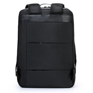 AIR+PRO男士双肩背包MacBook苹果/荣耀magicbook/微软surface笔记本电脑包15.6英寸旅行包充电书包AR-2603黑