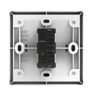 西蒙(SIMON) 开关插座面板 E3系列 一开双控开关 86型面板 雅白色 301012
