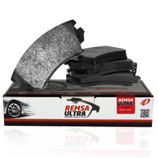 耐磨士(REMSA)陶瓷前刹车片适用雪铁龙C4L/世嘉/凯旋307/308/408/帝豪EC7