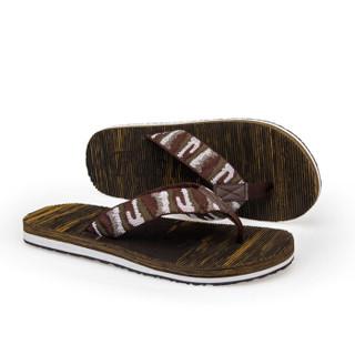 Nan ji ren 南极人 男士时尚简约夹脚户外沙滩人字拖鞋 043WPS5602 棕色 41