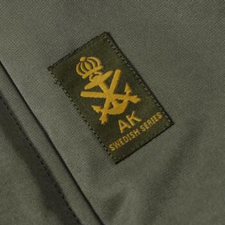 AK男装  连帽薄棉服1710002 深军绿 XL