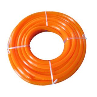 盈达华 华亚浩丝橘红色塑料软管 浇花洗车供水管 防冻无味 内径22mm 50米每盘 1盘价格