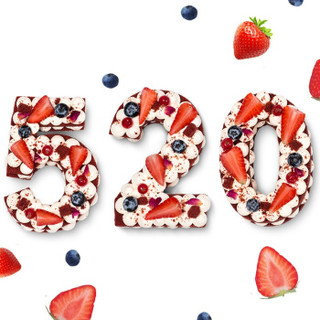 贝思客 红丝绒网红 数字4蛋糕节日创意生日蛋糕 320g