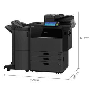 东芝(TOSHIBA)FC-7516AC多功能彩色数码复合机 A3激光双面打印复印扫描 e-STUDIO7516AC+同步输稿器+装订器