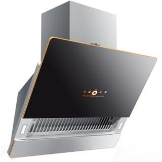迅达(XUNDA) 平板灶套装 侧吸式抽油烟机燃气灶具套装 23立方大吸力 DB8802L+CD6802 (液化气)