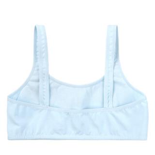 DORA THE EXPLORER 少女内衣发育期防凸点学生运动小背心    DRBR128-蓝色 70A