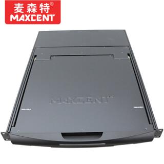 麦森特(MAXCENT )ML-8701 KVM切换器17英寸单口1口机架式折叠LCD液晶