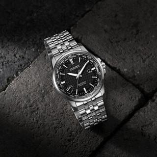 CITIZEN 西铁城 万年历系列 BX1001-89E 男士光动能手表