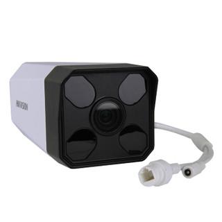 海康威视高清摄像头200万/1080P带POE红外50米网络摄像机DS-IPC-B12H2-I 8mm