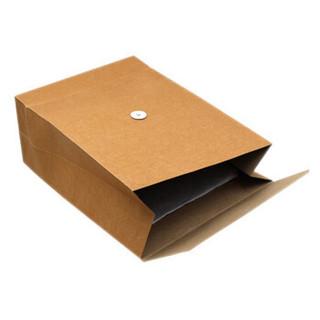 晨好( CHENHAO )A4牛皮纸档案袋 文件袋 加厚200g 底宽15cm 25个