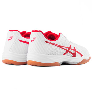 ASICS 亚瑟士 专业排球鞋男女款GEL-TACTIC运动鞋男鞋女鞋  1052A017-143 白色/红色 38