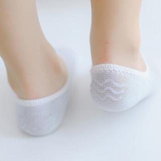 馨颂 儿童袜子男童夏季薄款网眼袜精梳棉船袜三双装套装 T002F1 清新条纹 18-20(L)(8-10岁)