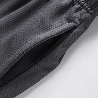 北极绒 Bejirong T恤男2019男士短袖T恤套装个性潮牌运动套装简约时尚款 322/深蓝 XL