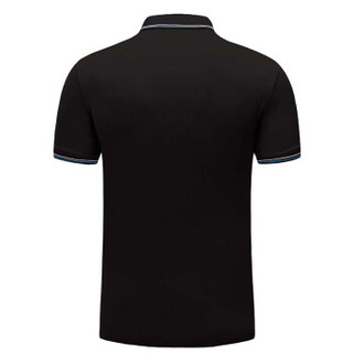 Lee Cooper    短袖POLO衫2019新款时尚休闲打底衫潮流百搭款 LZ-2758 黑色 3XL