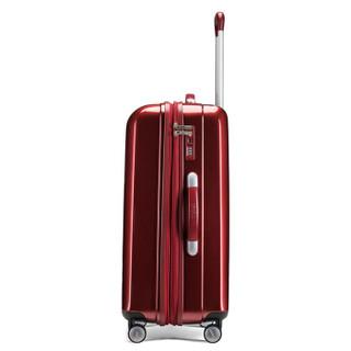 AMERICAN 29英寸商务男女大容量行李箱PC材质可扩展旅行箱 飞机轮TSA密码锁BI4酒红色