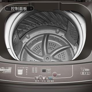 威力(WEILI)8.0公斤全自动波轮洗衣机 快精洗 可单独脱水 优质电机  XQB80-1999