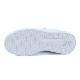 ADIDAS阿迪达斯 男女小童鞋 魔术贴大童鞋 运动训练休闲小白鞋 BA9524 31码 UK12-K