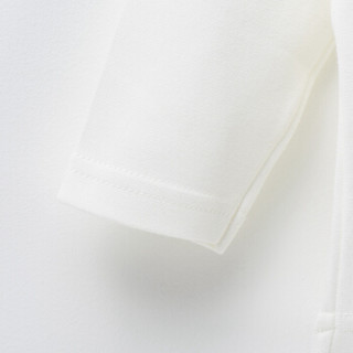 童泰男女宝宝长袖圆领套头上衣 T91Q1607 白色 80
