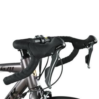永久(FOREVER)14级禧玛诺变速公路自行车700C弯把铝合金车架双机械碟刹男女式破风跑车 比安奇绿