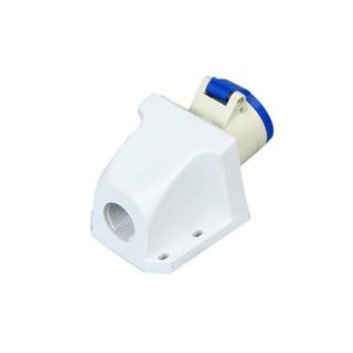 ZNG 113明装工业插座16a3p 单相三线3芯16a航空插座明装固定式 5个装 ZNG-113