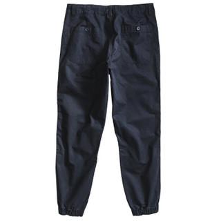 AK男装 (AKSERIES)修身款小脚橡筋收口束脚薄潮流青年休闲裤1712001 浅军灰 29