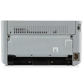惠普(HP)P1106黑白激光打印机 A4打印 USB打印 小型商用打印 1年上门服务