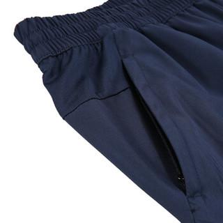 PEAK 匹克 男短裤透气排汗舒适梭织短裤运动裤 DF392131 深兰 XL码